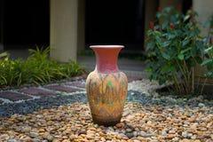 Vases décoratifs à argile Photo stock