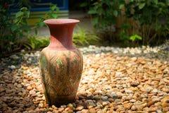 Vases décoratifs à argile Photographie stock