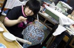 Vases fabriqués à la main Photo libre de droits