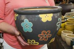 Vases for flowers Stock Image