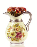 Vases with flowers Stock Photo