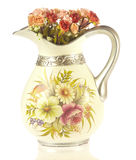 Vases with flowers Royalty Free Stock Images