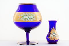 Vases of glass Royalty Free Stock Images