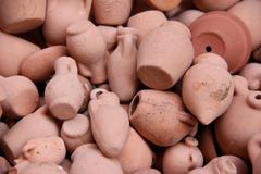Vases miniatures Images libres de droits