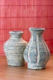 Vases of terracotta Royalty Free Stock Photos