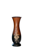 Vases wood Royalty Free Stock Photos