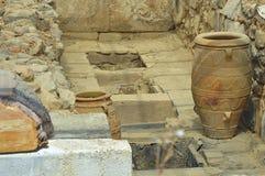 Vasi antichi dell'argilla Fotografie Stock Libere da Diritti