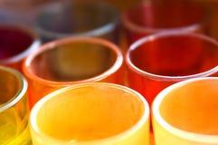 Vasi Colourful Fotografia Stock Libera da Diritti