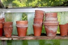 Vasi da fiori Immagine Stock