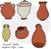 Vaso greco antico illustrazioni vettoriali e clipart for Vaso greco antico