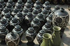 Vasi dell'argilla Fotografie Stock