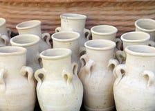 Vasi dell'argilla Fotografia Stock