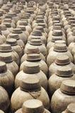 Vasi dell'argilla Immagini Stock Libere da Diritti