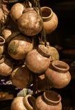 Vasi delle terraglie - Messico Fotografia Stock Libera da Diritti