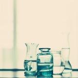 Vasi di vetro dell'annata Immagini Stock