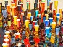 Vasi differenti della decorazione Fotografie Stock