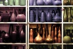 Vasi e vasi Fotografie Stock Libere da Diritti