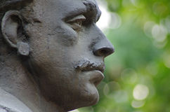 Vasil Levski bronze monument Stock Photography