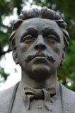 Vasil Levski bronze monument. In Bulgaria Stock Photos