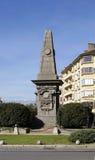 Vasil Levski monument. Monument to Bulgarian national hero Vasil Levski in Sofia, Bulgaria Stock Photo
