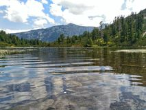 Vasilashki湖 库存图片