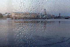Vasilevsky-Insel St Petersburg Russland Lizenzfreies Stockfoto