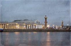 Vasilevsky Island, St. Petersburg Royalty Free Stock Image