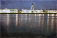 Vasilevsky Island, St. Petersburg Stock Photo
