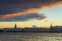 Vasilevsky Island, St. Petersburg. Stock Photography