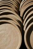 Vasilha de barro da terracota Fotografia de Stock