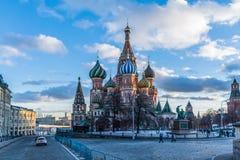 Vasili Blajeni莫斯科2 免版税库存图片
