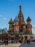 Vasili Blajeni Moscow Stockfotografie