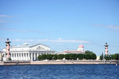 Vasilievsky island Stock Images