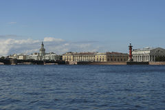 Vasilievsky island. Stock Photo