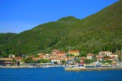 Vasiliki town Greece Stock Photos