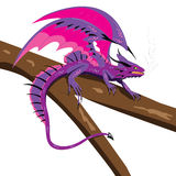 Vasilisk dragon. Stock Image