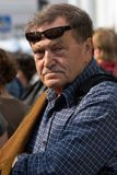 Vasily Aksionov, programa de escritura Fotos de archivo libres de regalías