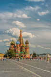 Vasily Blazhennogo cathedral Royalty Free Stock Photos