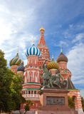 Vasily Blazhennogo s cathedral . Moscow. Russia Stock Photo
