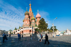 Vasily the Blessed (St. Basil's) cathedral Royalty Free Stock Photography