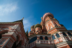 Vasily the Blessed (St. Basils) cathedral Stock Photo