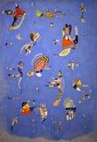 Vasily Kandinsky небесно-голубое Стоковые Фотографии RF