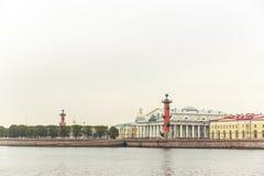 Vasilyevsky Ostrov view Royalty Free Stock Photography