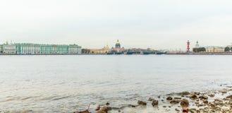 Vasilyevsky Ostrov view Royalty Free Stock Photos