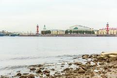 Vasilyevsky Ostrov view Stock Photography