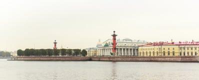 Vasilyevsky Ostrov view Stock Image