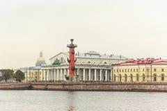 Vasilyevsky Ostrov view Royalty Free Stock Image