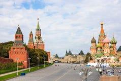 Vasilyevsky Spusk Square in Moscow Royalty Free Stock Photography
