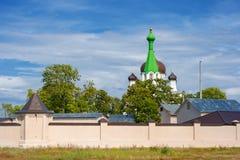 Vasknarva教会。 爱沙尼亚 库存图片
