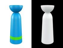 vaso 3D moderno Fotografia Stock